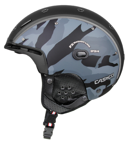 Casco SP-6 Airwolf Camo black-grey lyžařská helma