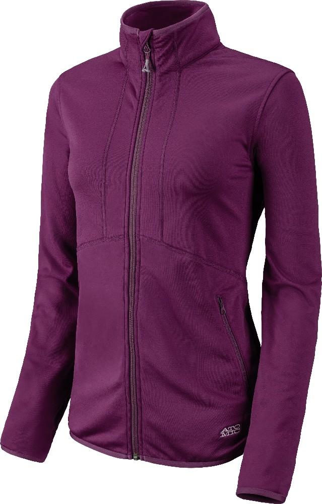Atomic Treeline Microfleece Jacket W berry mikina