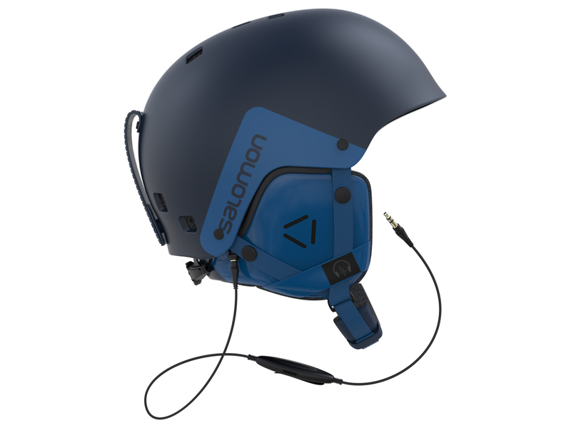 Salomon BRIGADE AUDIO Navy helma
