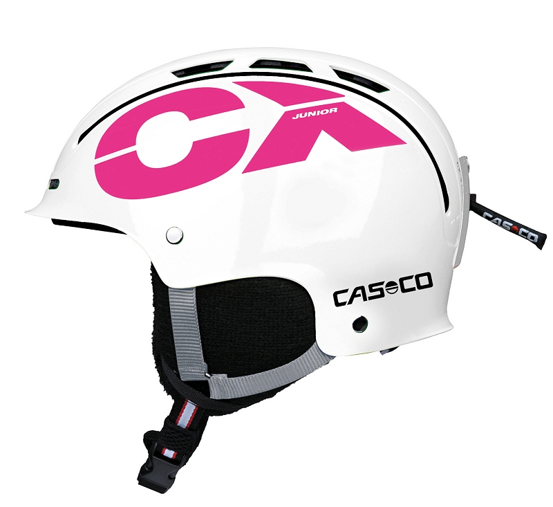 Casco CX-3 Junior White-pink, lyžařská helma