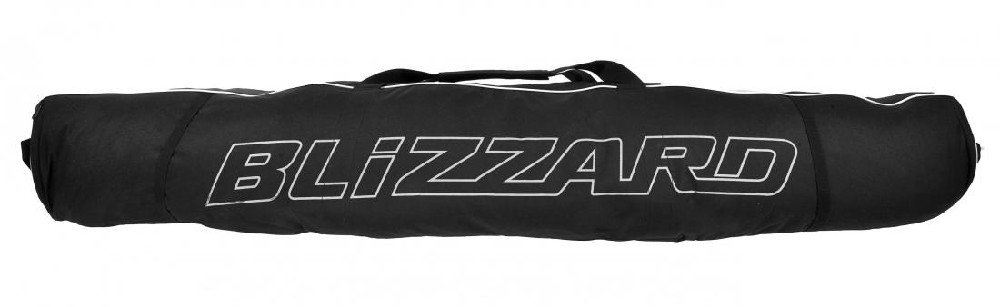 Blizzard Ski bag Premium for 2 pairs, black/silver vak na lyže