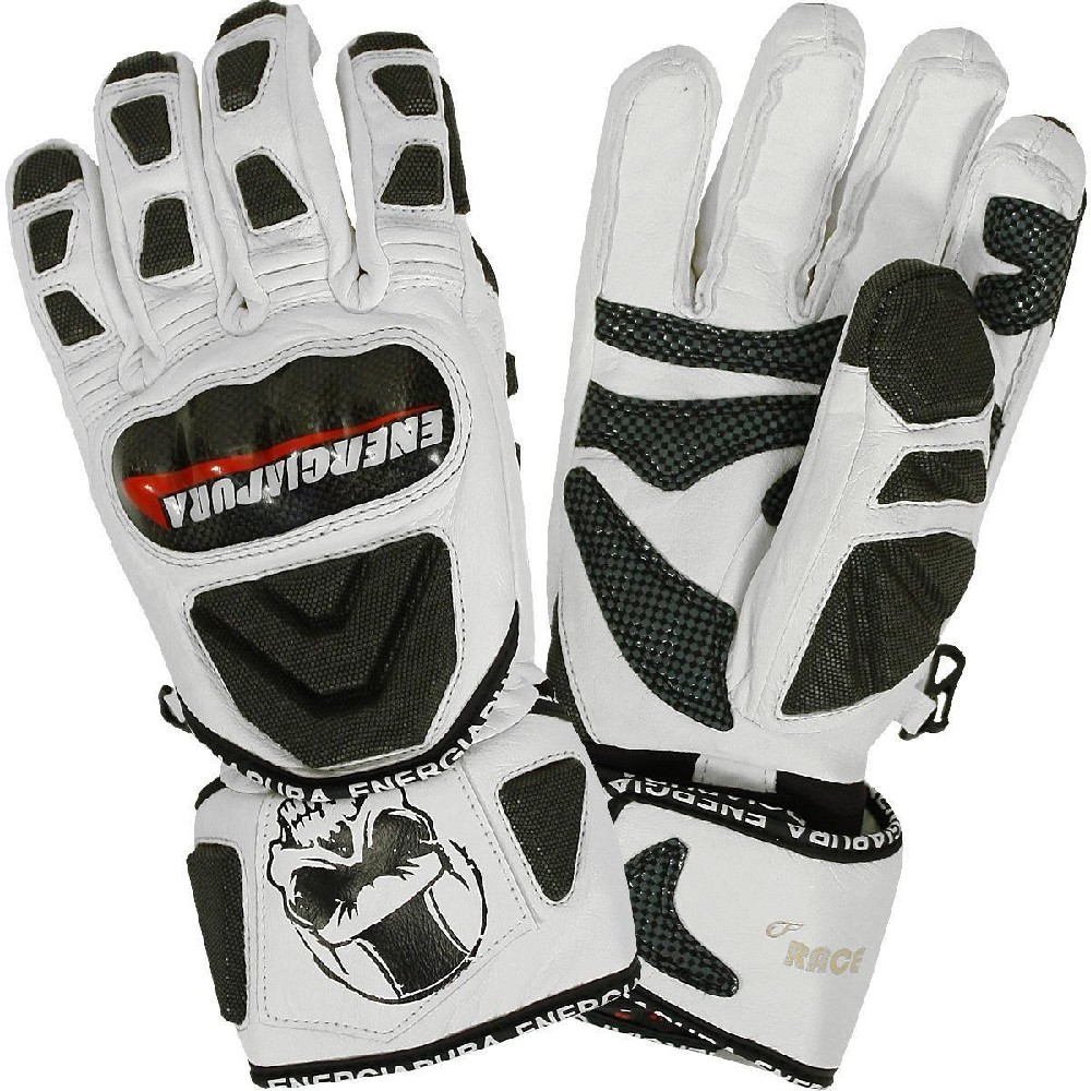 EnergiaPura Race leather gloves