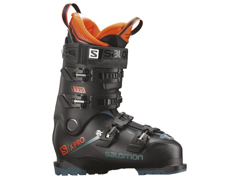 Salomon X PRO 120 black blue orange pánské lyžařské boty 18 19 ... 339f4643839