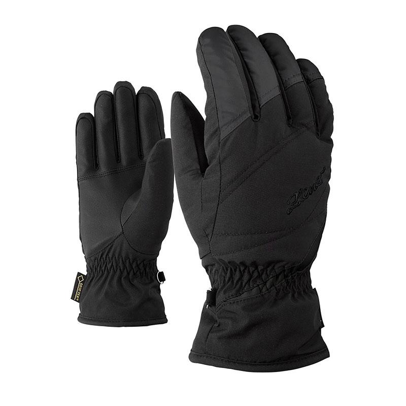 Ziener KAFIKA GTX® LADY Black dámské rukavice - WAVE SPORT 59fb29dae3
