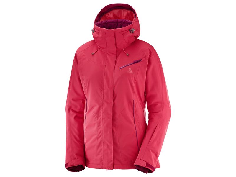 Salomon FANTASY JKT W Hibiscus heather dámská lyžařská bunda - WAVE ... 7f804d8e8e
