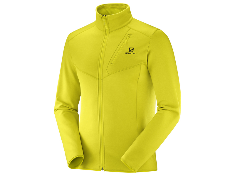 Salomon DISCOVERY FZ M Sulphur Spring Heath midlayer