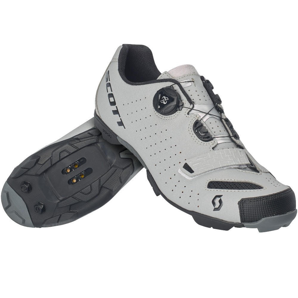 Scott Mtb Comp Boa Shoe reflective black cyklo boty