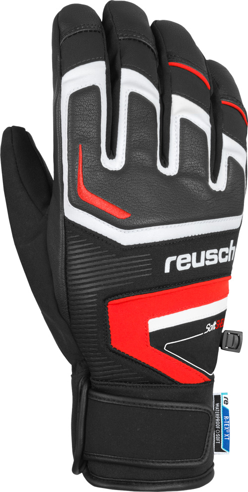 Reusch THUNDER R-TEX XT black/red lyžařské rukavice