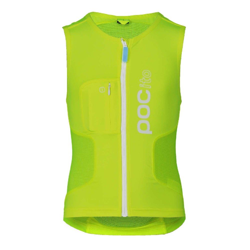 POC POCito VPD Air Vest JR Fluorescent Yellow/Green