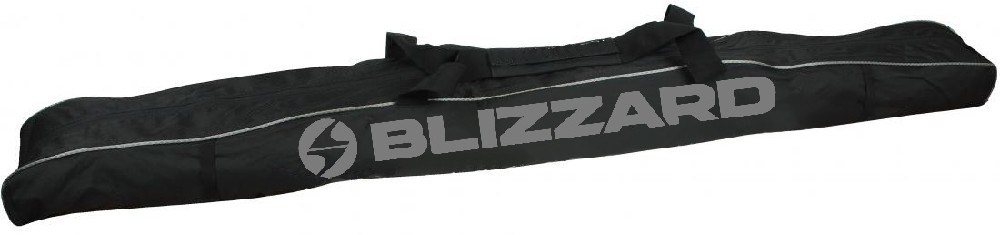 Blizzard Ski bag Premium for 1 pair, black/silver vak na lyže na 1 pár 145 - 165 cm