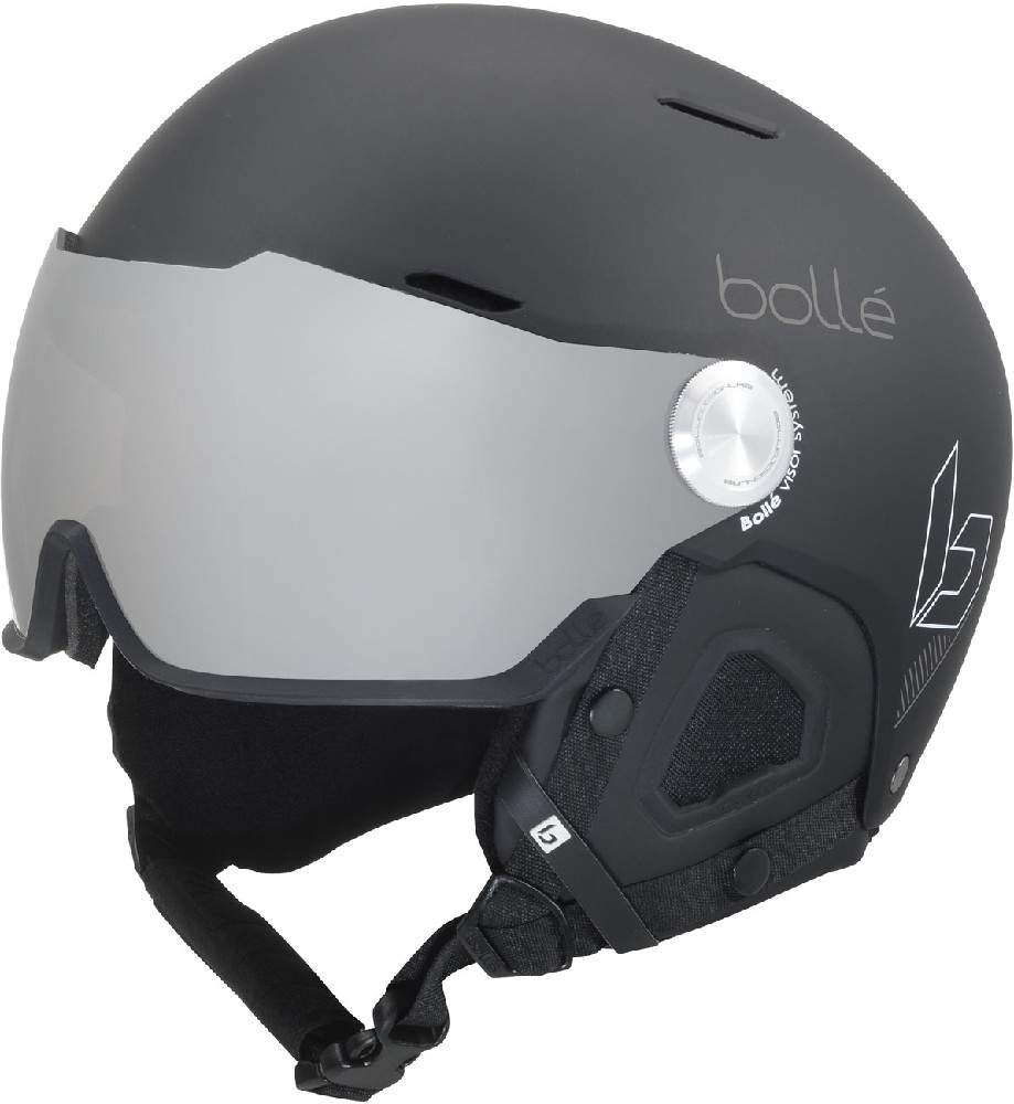 Bollé MIGHT Visor Matte Black/Grey silver lens  helma 19/20