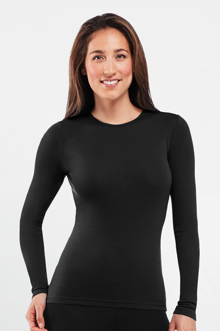 Icebreaker Everyday Long Sleeve Crewe Wmn