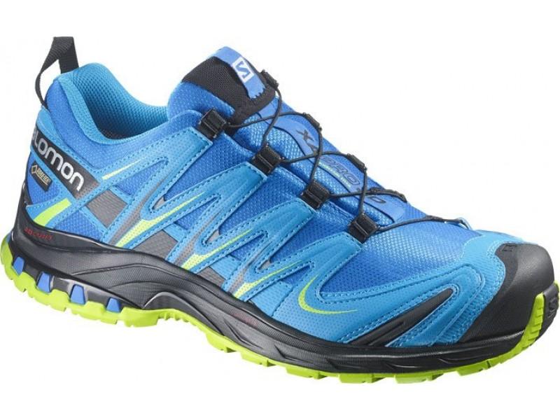 Salomon XA PRO 3D GTX union blue blue green pánské boty - WAVE SPORT 94915501ac6