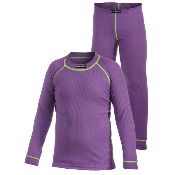 Craft ACTIVE Multi 2-pack dětské funkční prádlo Lilac - WAVE SPORT 57815c7ebb