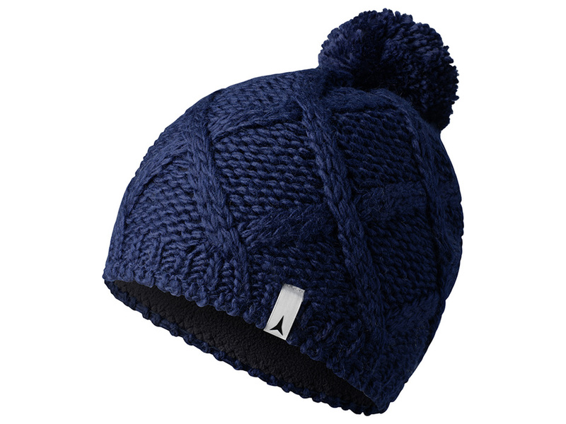 Atomic W ALPS POM BEANIE Midnight čepice